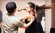 8 or 12 Salsa, Argentine Tango, or Zumba Fitness Classes at Dance Annex (Up to 78% Off)