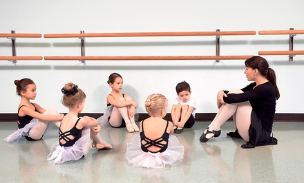 One or Two Kids' Dance Classes Per Week for One Month at Dance Arts Center (Up to 55% Off)
