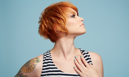 Haircut with Optional Partial or Full Color from Brandi Bresley at The Hair Shed (Up to 68% Off)