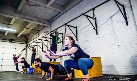 Four Weeks of Unlimited CrossFit Classes at Crossfit 12Gauge (65% Off)