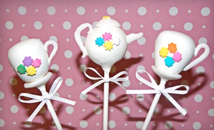 One Dozen Basic or Pushup Cake Pops at Fabipops (Up to 63% Off)