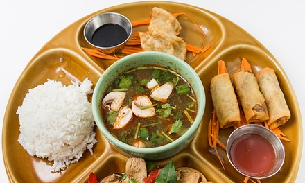 $20 for $30 Worth of Thai Food for Lunch or Dinner at Dok Bua Thai Kitchen