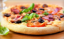 $7 for $14 Worth of Pizza and American Food at ZaZing!