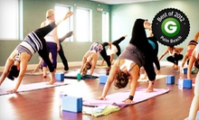 5 or 10 Classes at Twin Power Yoga (Up to 67% Off)