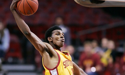 USC Trojans Men's Basketball Game at the Galen Center on December 3, 7, or 30 (Up to 81% Off). Three Seating Options.