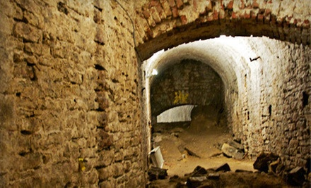 $20 for a Queen City Underground Tour for Two from American Legacy Tours ($40 Value)