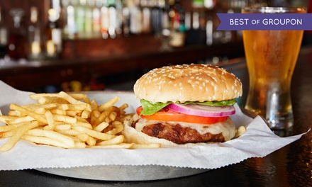 $20 for Two Burgers and Two Pints of Draft Beer at Hogan's Beach (Up to a $38 Value)