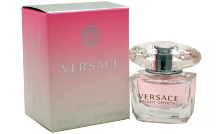 Versace Bright Crystal Women's Eau de Toilette Mini; 0.17 Fl. Oz.