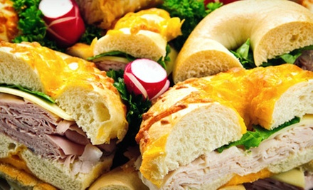 $10 for $20 Worth of Deli Food, or a Bagel Bucket at The Bagelry