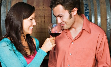 $17 for a Wine Tasting for Two at In The Red Wine Bar (Up to $30 Value)