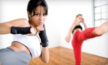 5 or 10 Women's Kickboxing Classes at Universal MMA (Up to 70% Off)