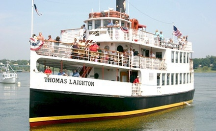 $16 for a Historic Isles of Shoals and Portsmouth Harbor Boat Tour from Isles of Shoals Tours ($28 Value)