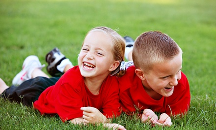 $126 for a Five-Day Multi-Sport and Swimming Kids' Summer Camp from HUB Sports ($190 Value). 10 Camps Available.