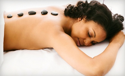 One or Two 60-Minute Aromatherapy or Hot-Stone Massages at Chaba Herbal Spa & Thai Yoga Massage (52% Off)