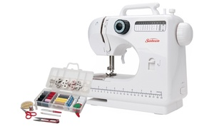 Sunbeam Large Sewing Machine With Sewing Kit