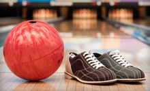 Bowling with Shoe Rentals for Up to 6 or 12 at Fulton Bowling Center (Up to 56% Off)