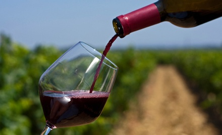 Wine Tasting, Hayride, and Souvenir Wineglasses for Two or Four at Leyden Farm & Winery (Up to 53% Off)