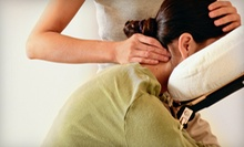 Chiropractic Exam and Adjustment with One or Two 60-Minute Massages at Integrated Health (Up to 92% Off)