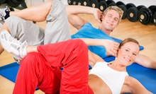 10 or 20 Boot-Camp Classes at Fitness 4 You Inc. (87% Off)
