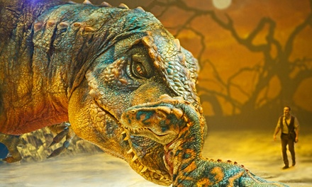 Walking with Dinosaurs at The Palace of Auburn Hills on August 6–10 (Up to 48% Off)