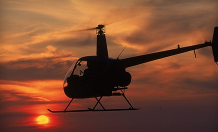Private Photo Safari, or One or Three Introductory Flight Lessons from Charleston Helicopters (Up to 51% Off)