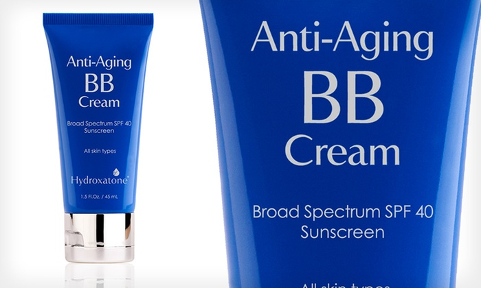 for hydroxatone anti aging bb cream groupon. Black Bedroom Furniture Sets. Home Design Ideas