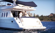 $199 for a Two-Hour BYOB Yacht Cruise in Newport Harbor for Two from Double Trouble Charters ($400 Value)