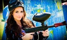 $30 for an All-Day Outing for Six with Equipment Rental from Paintballtickets.com (Up to $132 Value)