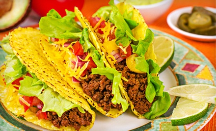 Mexican Food at Los Tacos (Up to 63% Off). Two Options Available.