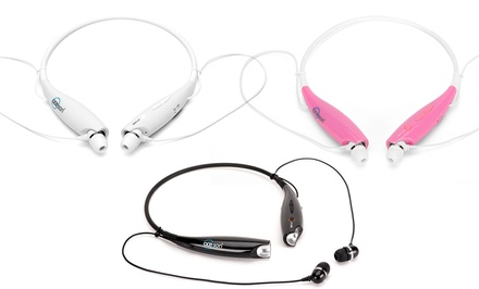 Acesori Bluetooth Noise-Canceling Neckband Headset with Built-In Microphone