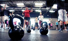 Four or Eight Weeks of Boot-Camp Classes, Body Assessment, and $10 Worth of Fitness Goods at Kosama (Up to 85% Off)