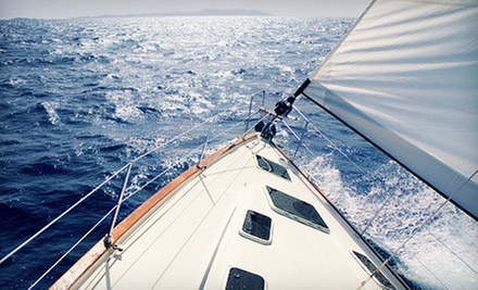 Intro Sailing Course for Two or Charter for Up to Five on the Chesapeake Bay from The Sailing Academy (Up to 56% Off)