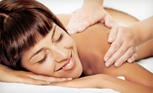 60-Minute Custom Massage or minence Body Wrap and Scrub at Changes in Motion Boutique Fit Spa (Up to 59% Off)