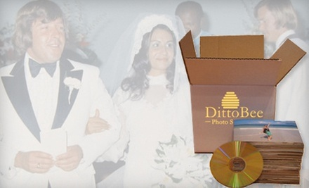 Digitization of 500 or 1,000 Photos at DittoBee Photo Scanning (Up to 61% Off)