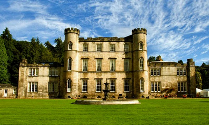 Melville Castle - Edinburgh: Edinburgh: One-Night Stay For Two With Dinner and Wine, £109 at Melville Castle