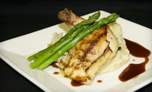 Steak-House Meal for Two or Four with Appetizers and Entrees at Oscar's (Up to 53% Off)