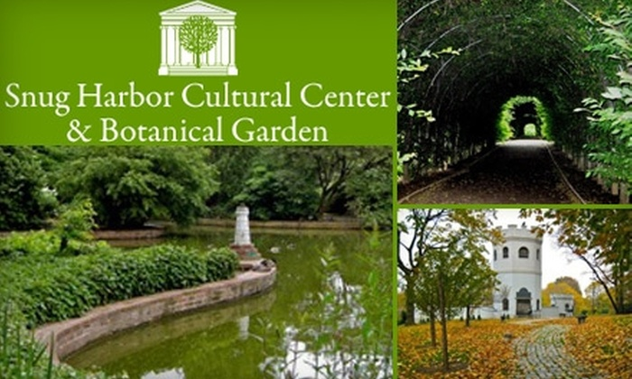Snug Harbor Cultural Center Botanical Garden New York City Deal Of The Day Groupon New York City