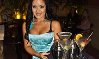 Blue Martini Photo
