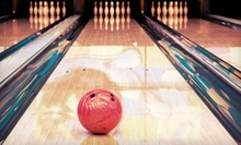 $32 for Bowling for Up to Six and One 16-Inch Pizza at The Fast Lane Bowling and Party Center ($78 Value)