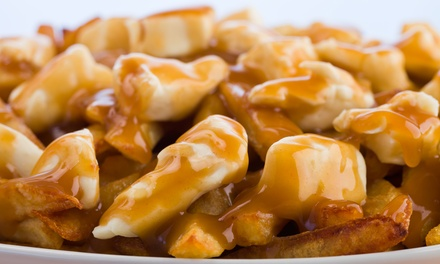 One or Three Groupons, Each One Good for Two Orders of Poutine at Mixture Poutine (Up to 58% Off)