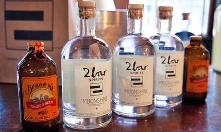$39.95 for a Spirits Tasting with Dessert for Two at 2bar Spirits ($95 Value)