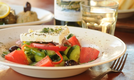 Traditional Greek Cuisine for Lunch or Dinner at Taverna Opa - Delray Beach (Up to 44% Off). Three Options Available.