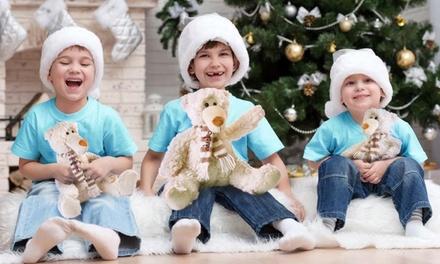 Urso branco de peluche personalizado com nome desde 9,90€