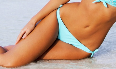 One Bikini Wax or One or Two Brazilian Waxes at Red and White Spa (Up to 59% Off)