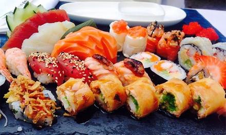 Alma Restaurante — Guimarães: menu de sushi para dois com entradas, freestyle de sushi, café e bebidas desde 24,90€