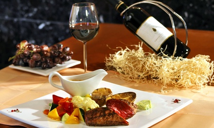 Argentine Dinner for Two or Four with Tapas, Desserts, and Drinks at Doma Polo Bistro (45% Off)