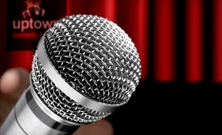 Two or Four General-Admission or VIP Tickets to Uptown Comedy Corner (Up to 71% Off)