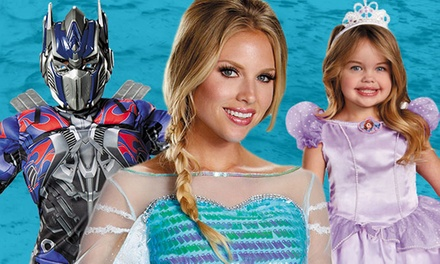 $20 for $40 Towards Halloween Costumes, Decorations, and Accessories at CostumeSupercentre.ca