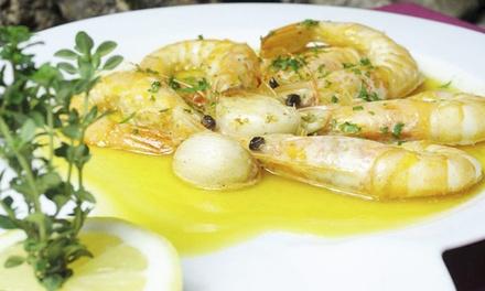 A Gruta do Paraíso — Alfama: menu tradicional português em casa de fados para duas pessoas desde 14,90€