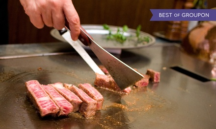 Japanese Cuisine at Tokyo Japanese Steak House (Up to 50% Off). Four Options Available.